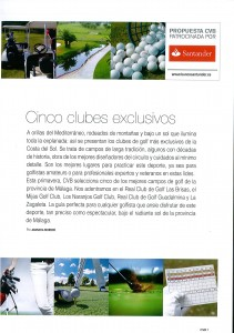 5 clubes exclusivos - 5 exclusive clubs