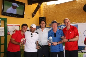 MANU SARABIA TROPHY - MIJAS GOLF CLUB - PRIZES GIVING