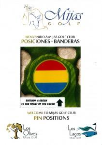 Posicion Banderas (Cartel) - Pin Positio (Sign)