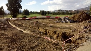 Mijas Golf Club - Entrada en Construcción - Entry under construction