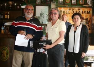 David Watts - Mijas Golf - Prizes giving - Entrega de Premios.