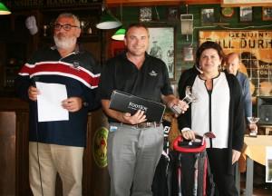 Jason Luzyniec - Mijas Golf - Prizes giving - Entrega de Premios.