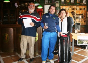 Tomas Lara - Mijas Golf - Prizes giving - Entrega de Premios.
