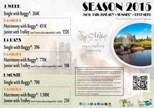 CD PACKAGES LOW SEASON-MID JANUARY+BUGGY 2015