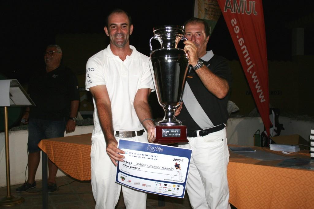 Profesional Ganador - First Profesional - Alfonso Gutierrez Mohedano