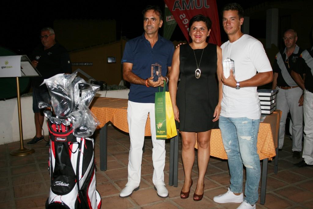 Equipo Ganador - First Team - Manuel Morugan (Profesional) - Juan Fco. Lazo Cordoba