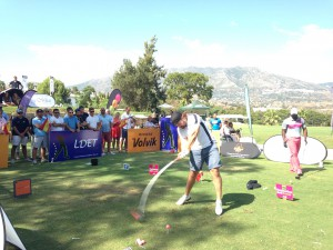 LONGEST DRIVE EUROPEAN TOUR 2015 - MIJAS GOLF CLUB