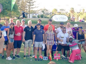 ENTREGA DE TROFEOS - LONGEST DRIVE EUROPEAN GOLF TOUR - MIJAS GOLF CLUB