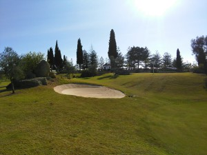 Mijas Golf Club - Los Olivos - Hoyo 18 - 18th Hole