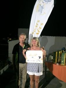 Norma Clarke - Ganadora del Abono Vip 2017 - 2017 Membership's winner.