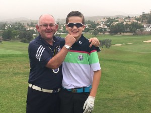 Mijas Golf Club - Con las futuras generaciones - With the future generations.