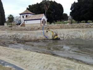 Reparaciones tras la inundacion - After floods repairs.