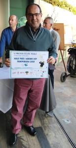 GANADOR ABONO VIP - 2018 MEMBERSHIP WINNER - V PROAM FELIPE PEREZ