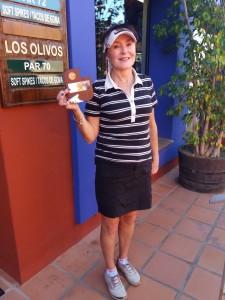 Hole in One - Hoyo en Uno - Mijas Golf - Los Olivos