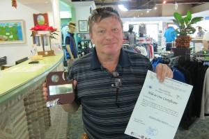 Hoyo en Uno - Hole in One - Mijas Golf - Los Olivos-
