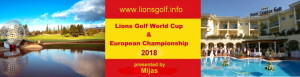 Lions Golf World Cup