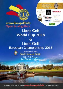 Lions Club2018 - Mijas Golf Club
