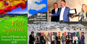 Great event at Mijas Golf Club - Gran evento en Mijas Golf Club.